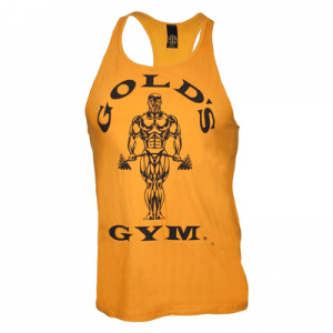 Classic Stringer Tank Top - gold
